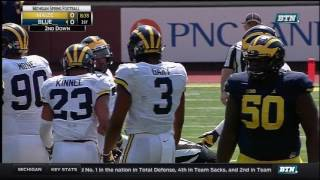 Michigan Wolverines: FULL 2017 Maize-Blue Spring Game [April 15, 2017] thumbnail