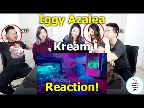 Iggy Azalea - Kream Ft. Tyga | Reaction - Australian Asians