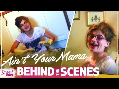 JENNIFER LOPEZ - Ain't Your Mama - Behind The Scenes (Music Video Cover by Sophie Pecora)