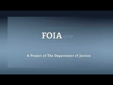 Who Handles FOIA Requests?