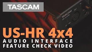 Video: Scheda Audio Usb Tascam Us-4x4hr Hight-resolution