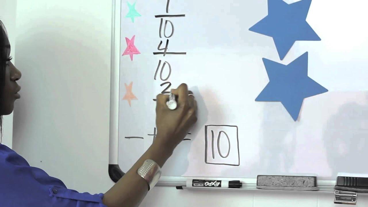 5th Grade Math On Adding Fractions : Understanding Math