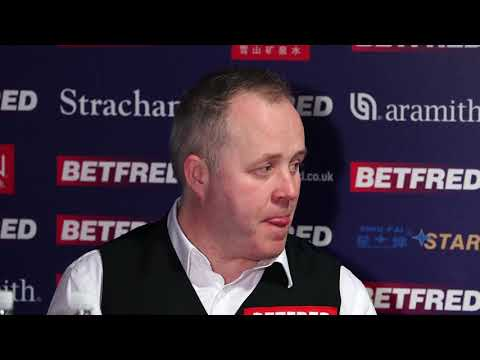 """I'd love to make one at the Crucible"" - John Higgins - 1st Round Press Conference"