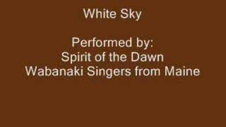 White Sky - Native American Drumming Song