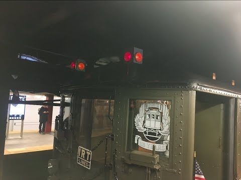 MTA Special: NYC Subway 115th Anniversary Nostalgia Train Footage: (2019!)