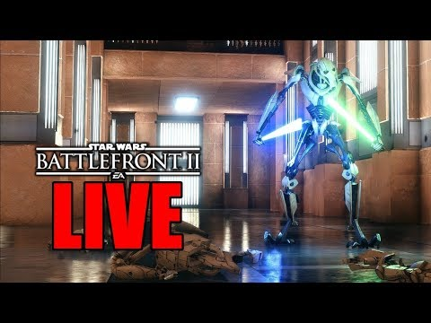 UPGRADED GENERAL GRIEVOUS! | STAR WARS BATTLEFRONT 2 LIVE STREAM | #111 thumbnail