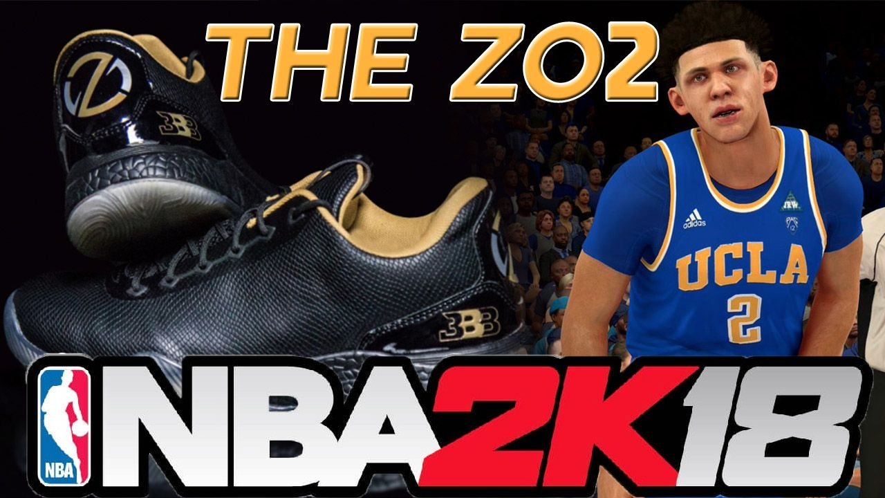 Will Lonzo Ball's Signature Shoe Be in NBA 2K18!?!