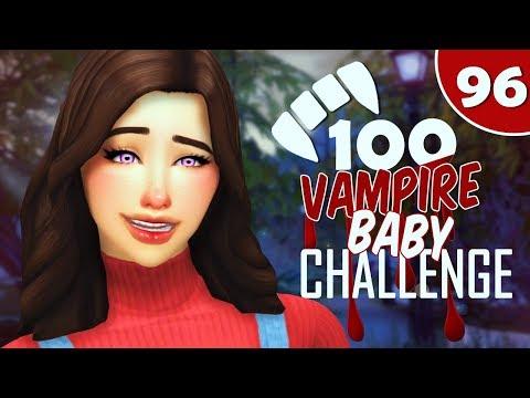 EASTER EGG HUNT! | EP.96 | The Sims 4: 100 Vampire Baby Challenge