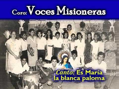 #Canto: Es María la blanca paloma | VOCES MISIONERAS