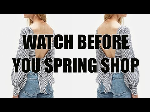 COOL SPRING PIECES UNDER $100 | BAGS, SHOES, BLOUSES