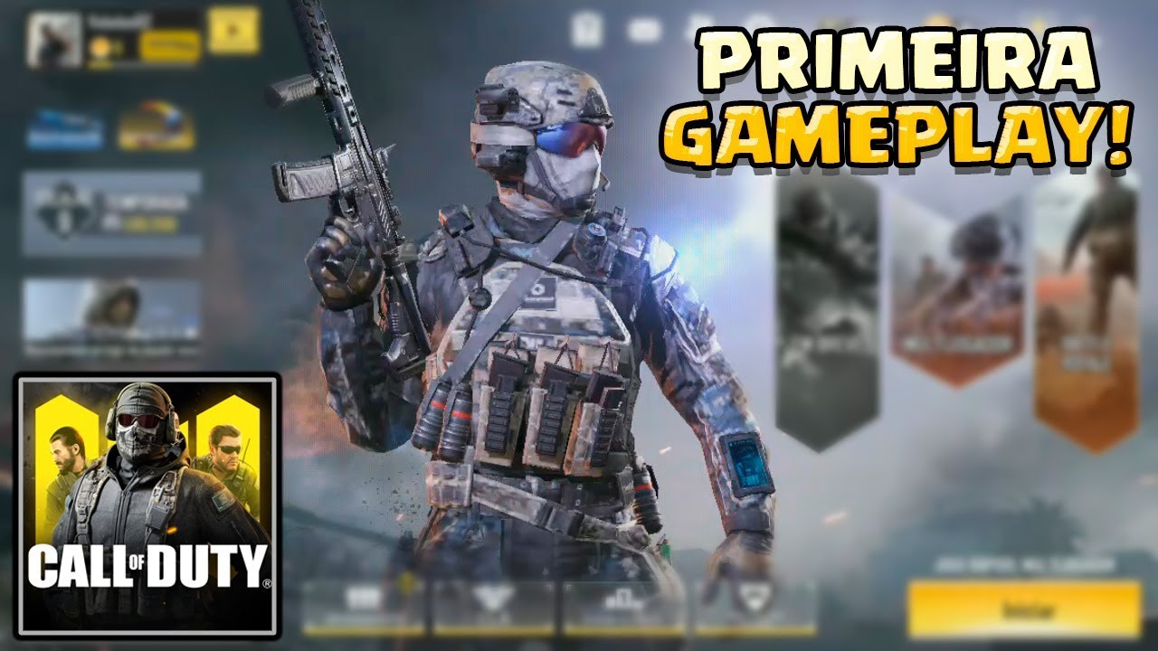 INCRÍVEL! CALL OF DUTY MOBILE [GAMEPLAY PT-BR]