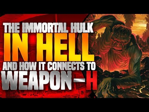 """Immortal Hulk: Goes To Hell + First Appearance Of """"The One BELOW All"""""""