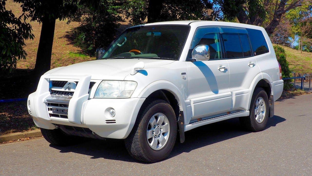 2002 Mitsubishi Pajero 3500 4x4 7-seater (Canada Import ...