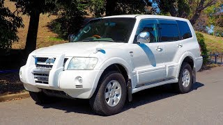 2002 Mitsubishi Pajero 3500 4x4 7-seater (Canada Import) Japan Auction Purchase Review