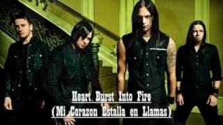 bullet for my valentine hearts burst into fire lyrics subtitulado