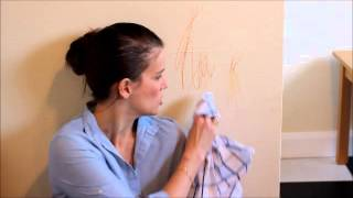How to get crayon off walls - 3 methods road-tested