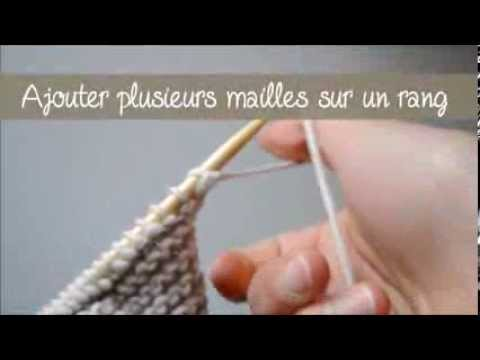 augmenter une maille