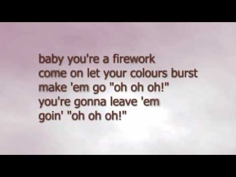 Katy Perry - Firework (backing track)