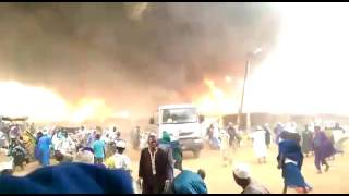 Terrible incendie a Médina Gounass