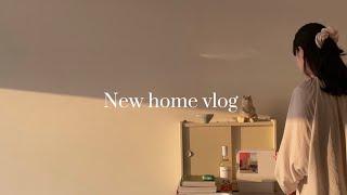 새로운 집에서 첫 자취브이로그,인테리어 소품으로 집 꾸…