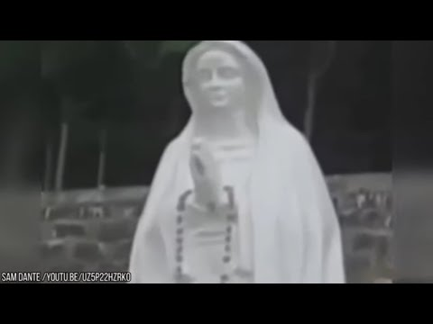 5 Virgin Mary Statues Caught Moving On Camera!