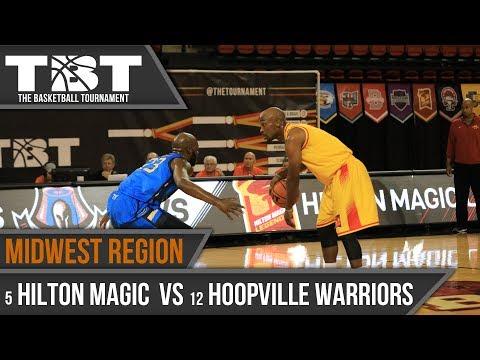 2017 TBT Midwest Region Recap - #5 Hilton Magic Legends vs #12 Hoopville Warriors