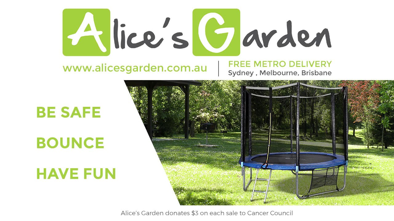 Alice S Garden Assembly Trampoline 8 Foot To 14 Foot Pluton Mars Saturne Venus Youtube