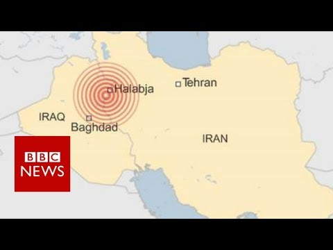 Iraq-Iran earthquake: Deadly tremor hits border region - BBC News