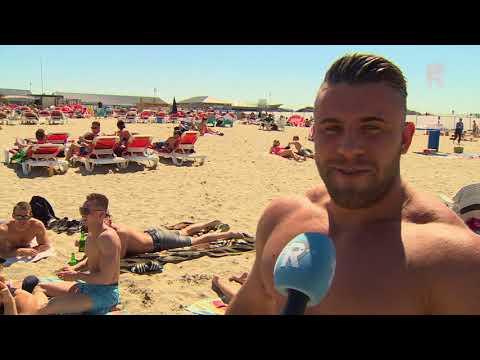 Volop genieten van strandweer Hoek van Holland