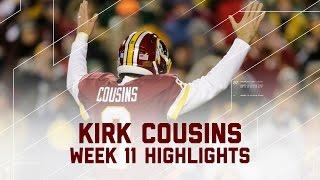 Kirk Cousins' Huge Game Against Green Bay! | Packers vs. Redskins | NFL Week 11 Player Highlights