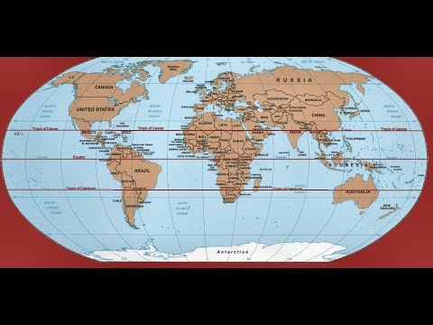 Trick To Remember  Geography : Countries Through Which Tropic Of Capricorn Passes