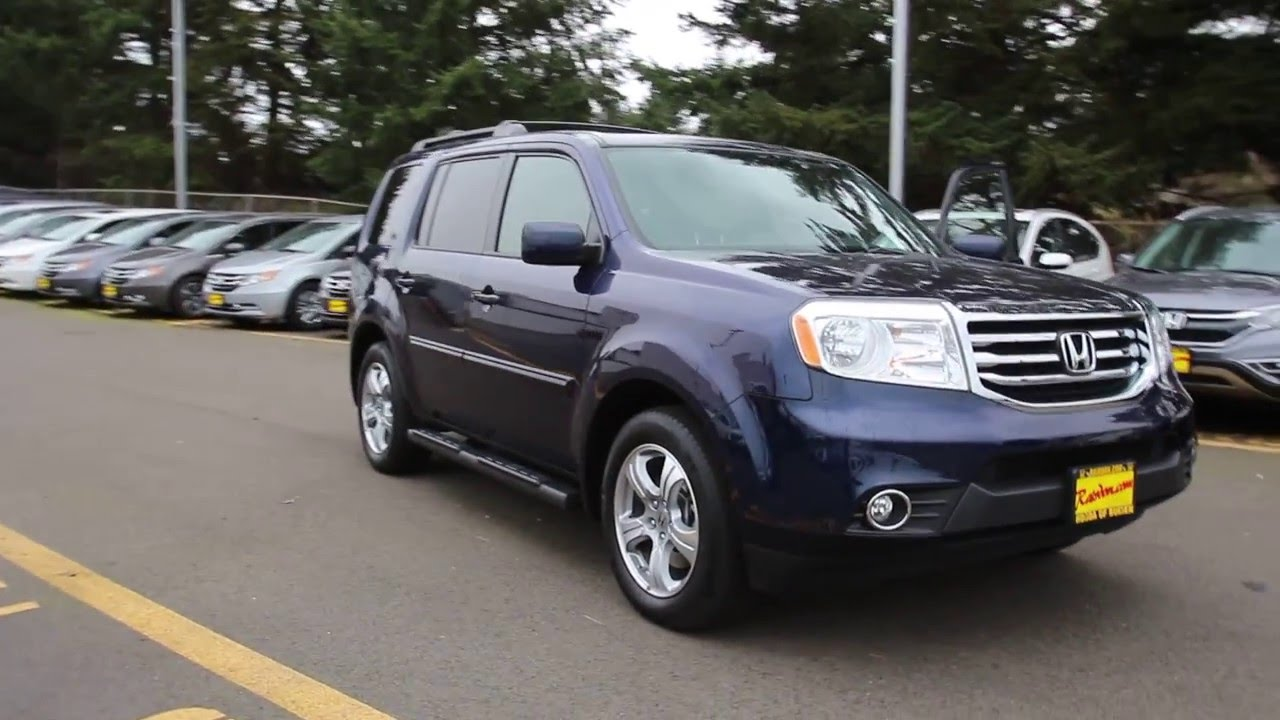 2013 Honda Pilot EX L | Blue | DB031693 | Seattle | Renton