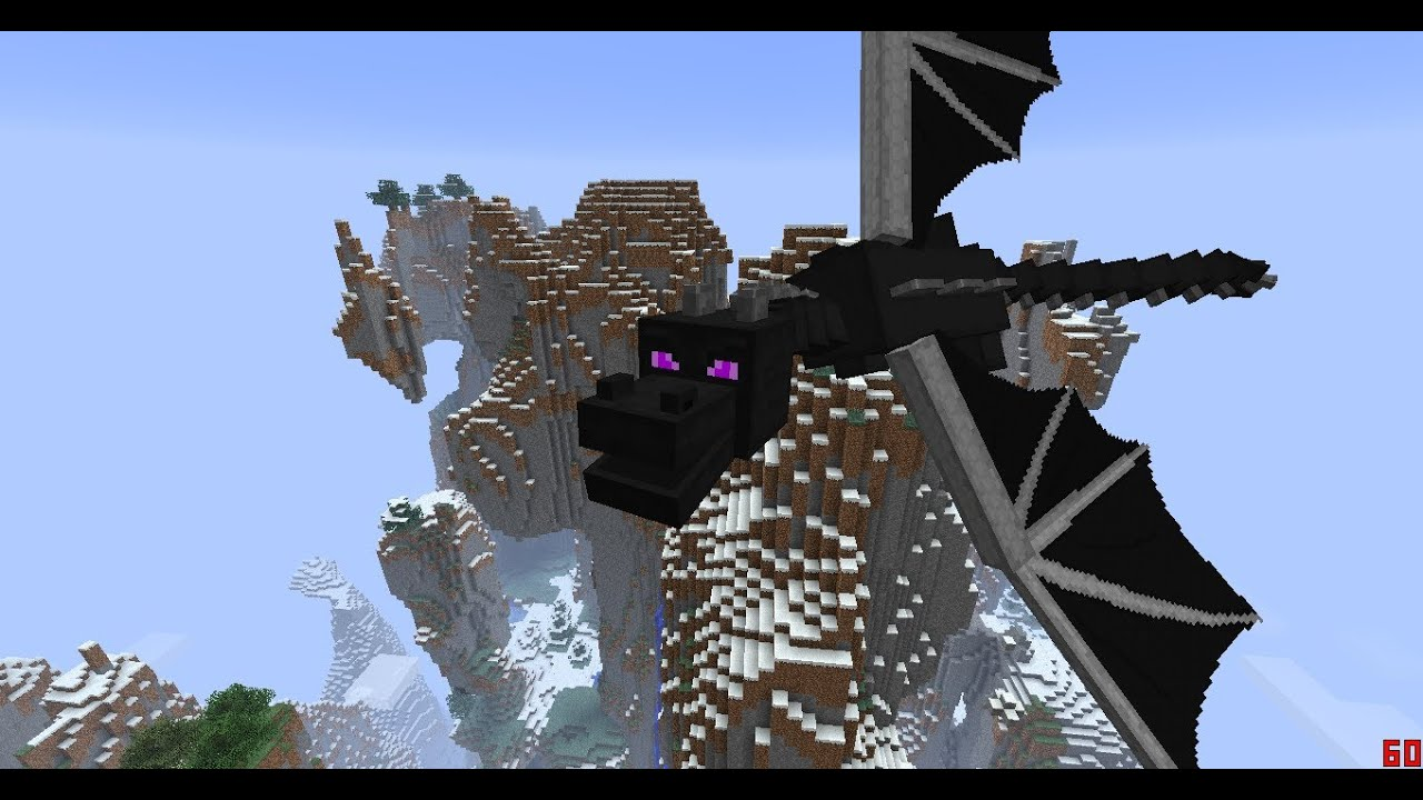 Minecraft Wallpaper Enderdragon Cute Minecraft 1 7 Dragon Summoning And Giant Zombies Youtube