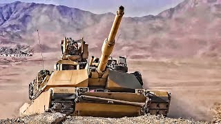 U.S. Army Tanks Shoot • National Training Center (2019)