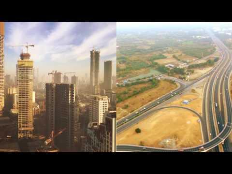 Mumbai city skyline latest 2017 !