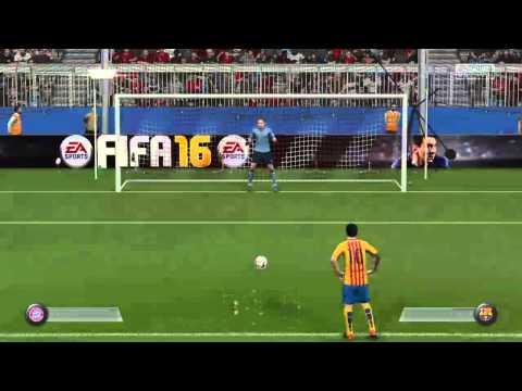 Luis Suarez carrera jugador FIFA 16
