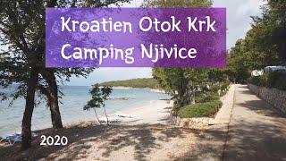 Kroatien Otok Krk #8 Camping Njivice