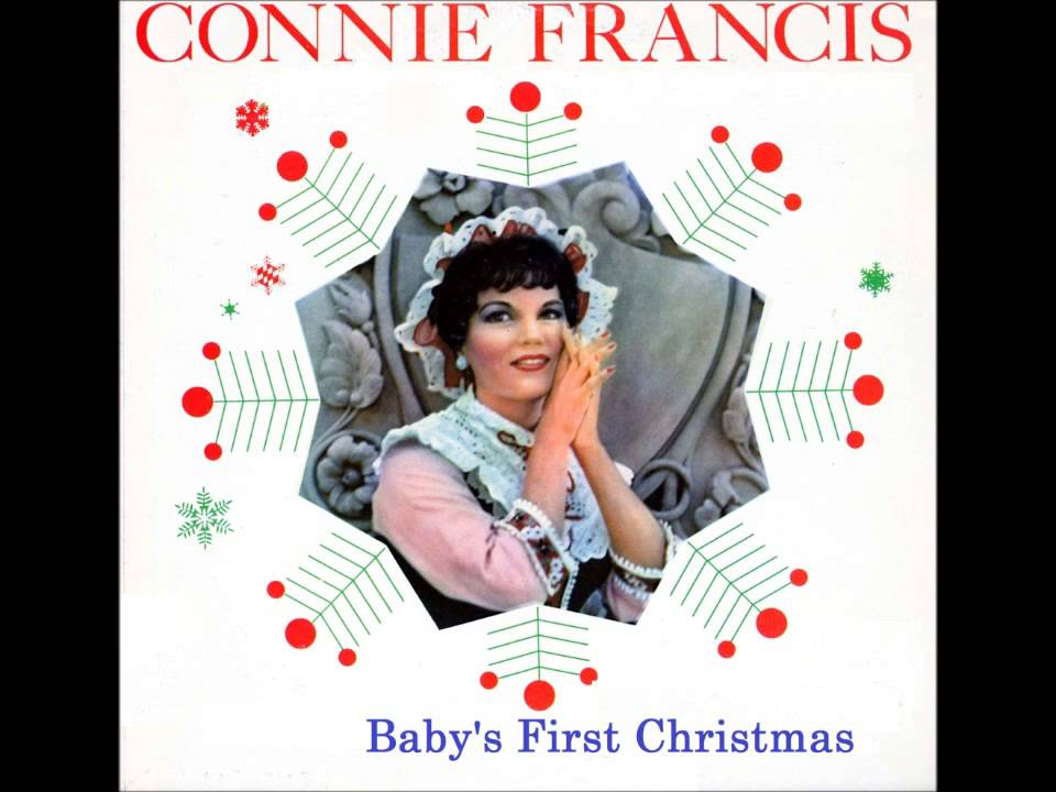 Connie Francis Baby's First Christmas - YouTube