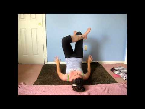 yoga  wall sequence for hip opening part ii  lauragyoga