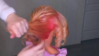 ПРИЧЕСКА на КОРОТКИЕ волосы. Прическа на ВЫПУСКНОЙ 2018 |  Prom Hairstyles for Short Hair