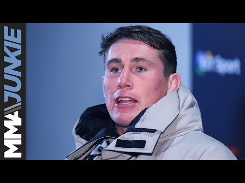 Darren Till media scrum at UFC Fight Night 127
