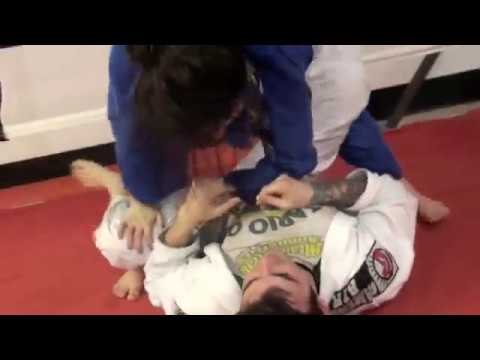Guy Puts Girlfriend in Triangle Choke (to Propose During