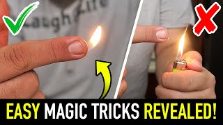 5 EASY Magic Tricks YOU Can Do Anywhere!