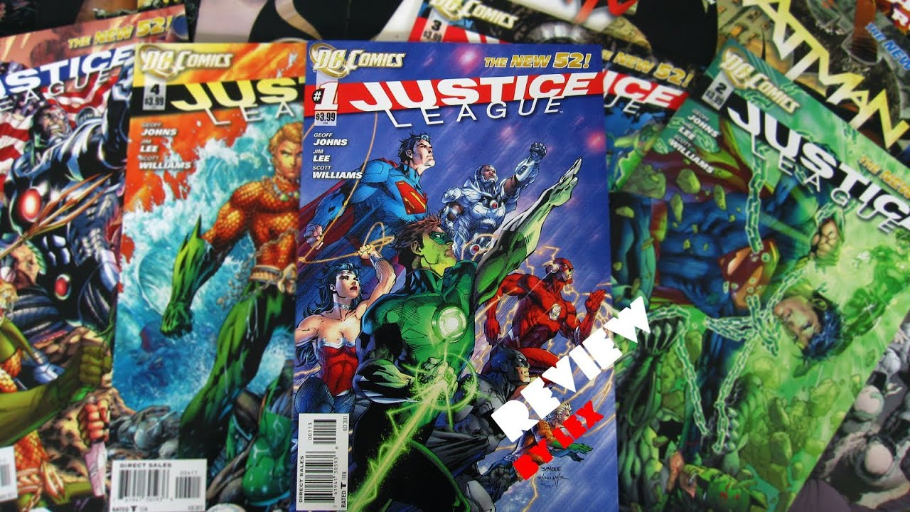 New 52 Justice League Review