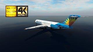 [AAY1207] Punta Gorda KPGD ✈ KAVL Asheville Rgnl (Rotate MD-80 | XP11 4K)