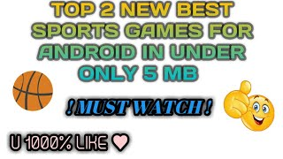 Best android games under 5 mb