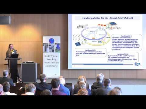 Die Rolle der KWK im Smart-Grid aus Sicht des ZSW [5. KWK-Fachtagung 2015]