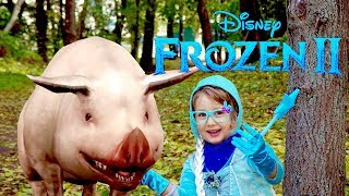 Disney Frozen 2 Princess Elsa in the magic forest Frozen 2 Cartoon for Kids Children 2