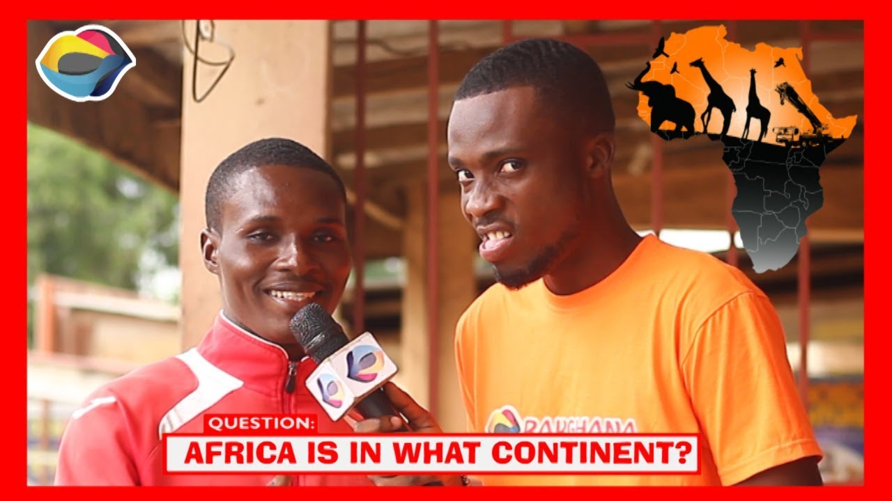 AFRICA IS IN WHAT CONTINENT? | Street Quiz | Funny Videos | Funny African Videos | African Comedy |