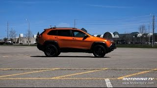 Test Drive: 2015 Jeep Cherokee Trailhawk